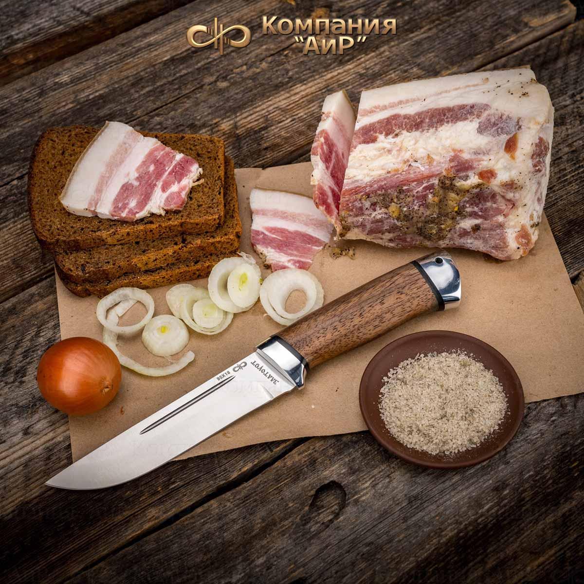 Нож Бекас - совершенный инструмент для нарезки продуктов